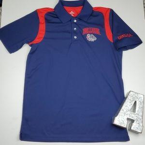 Knights Apparel Gonzaga Bulldogs Team Polo Shirt